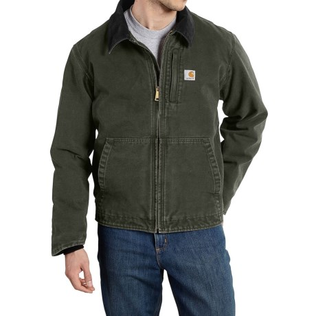 Carhartt Full Swing Sandstone Jacket Fleece Lined (For Big and Tall Men)