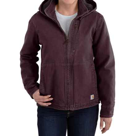 Carhartt Full Swing Sandstone Winn Jacket (For Women) in Deep Wine - 2nds