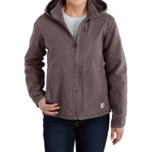 Carhartt Full Swing Sandstone Winn Jacket (For Women) in Taupe Grey - 2nds