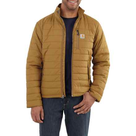 Carhartt Gilliam Jacket - Insulated (For Big and Tall Men) in Peppercorn - Closeouts
