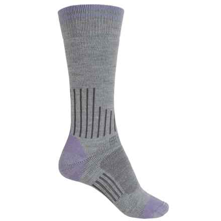 Carhartt Graduated Compression Boot Socks - Crew (For Women) in Heather Grey - Closeouts