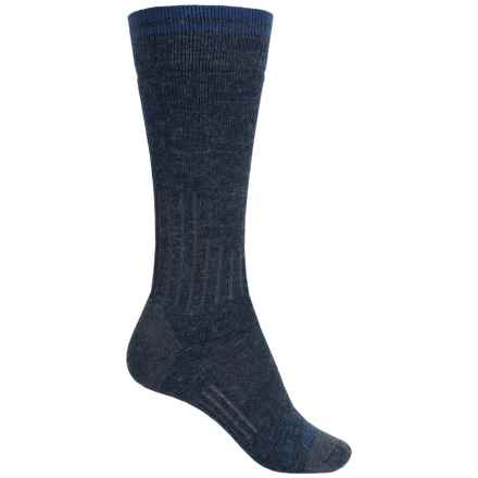 Carhartt Graduated Compression Boot Socks - Crew (For Women) in Navy - Closeouts