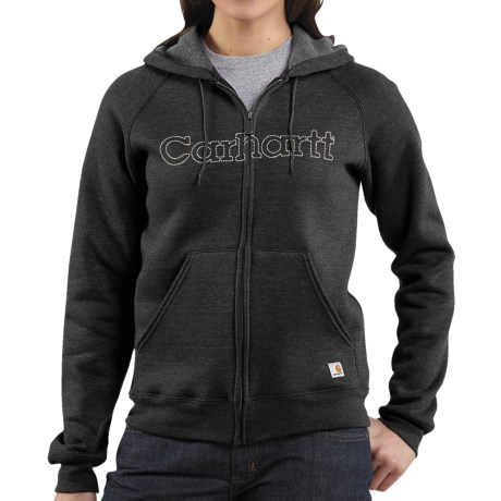 Carhartt Graphic Hoodie Sweatshirt - Midweight (For Women) in Black Multi