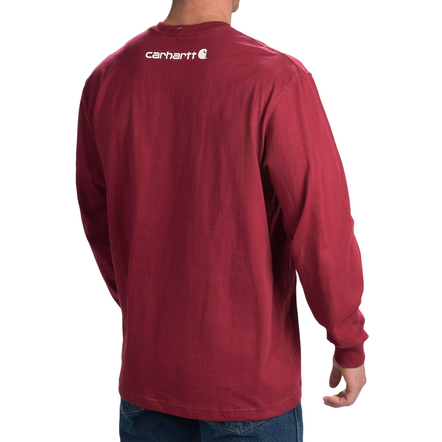 Carhartt graphic t shirt for tall men for Men s tall long sleeve shirts