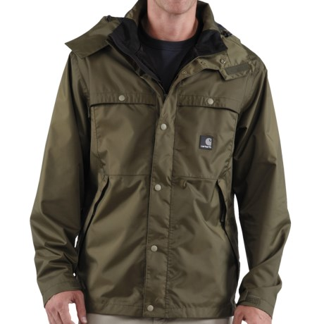 Carhartt Grayling Jacket - Waterproof (For Men) in Army Green