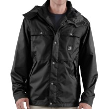 Carhartt Grayling Jacket - Waterproof (For Men) in Black - Closeouts