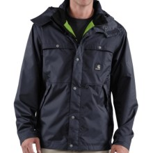 Carhartt Grayling Jacket - Waterproof (For Tall Men) in Navy - Closeouts