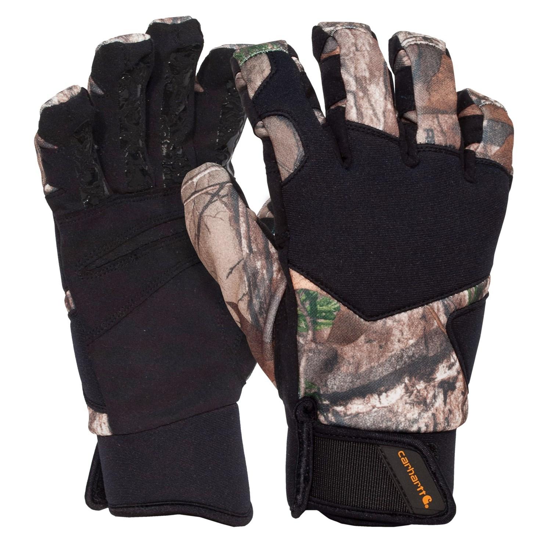 carhartt grip hunter gloves - insulated (for men and women)