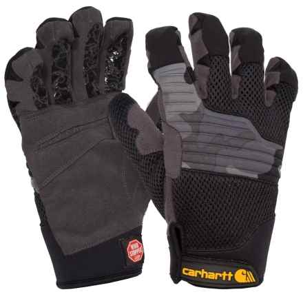 Carhartt Grip Shot Windstopper® Gloves - Insulated (For Men and Women) in Black Camo - Closeouts