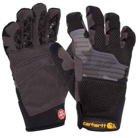 Carhartt Grip Shot Windstopper® Gloves - Insulated (For Men and Women) in Black Camo