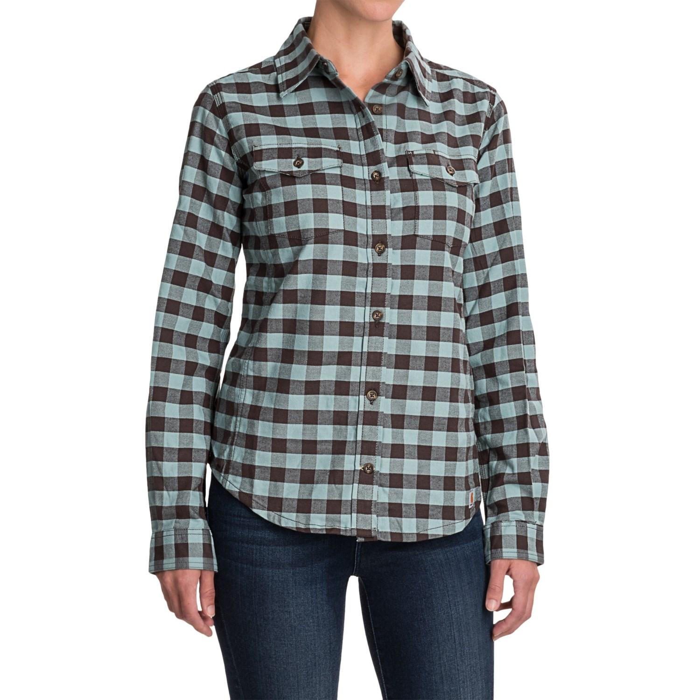 Carhartt Hamilton II Flannel Shirt (For Women)