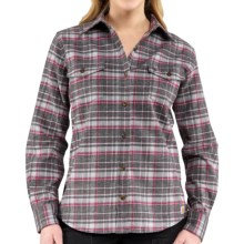 Carhartt Hamilton II Flannel Shirt - Long Sleeve (For Women) in Light Orchid - 2nds