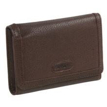 Carhartt Harper Leather Wallet (For Women) in Dark Brown - Closeouts