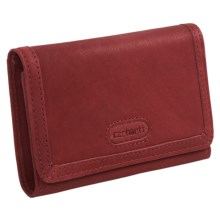 Carhartt Harper Leather Wallet (For Women) in Red - Closeouts