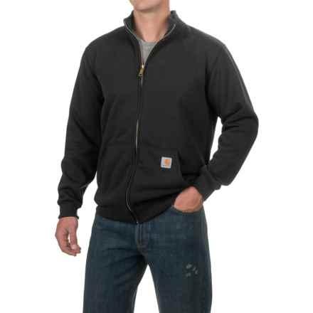 Carhartt Haughton Midweight Sweatshirt - Full Zip, Factory Seconds (For Men) in Black - 2nds