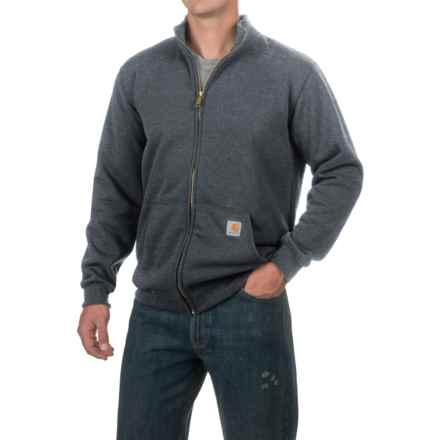 Carhartt Haughton Midweight Sweatshirt - Full Zip, Factory Seconds (For Men) in Charcoal Heather - 2nds