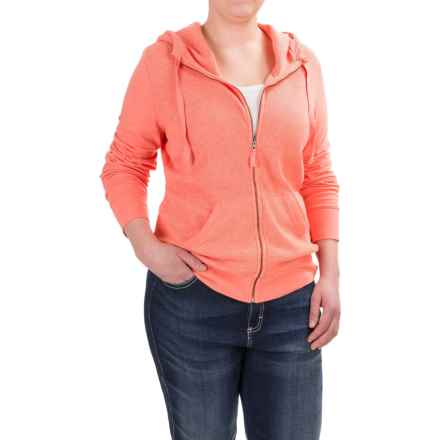 Carhartt Hayward Hoodie - Zip Front (For Women) in Burnt Coral Heather - Closeouts