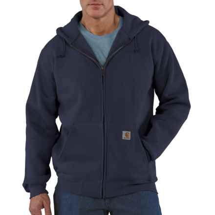 Carhartt Heavyweight Hoodie Sweatshirt - Zip Front (For Men) in Navy - 2nds