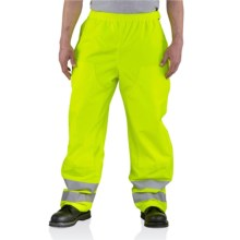 Carhartt High-Visibility Class 3 Pants - Waterproof (For Men) in Brite Lime - 2nds