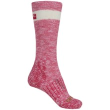 Carhartt Hiker Crew Socks - Merino Wool, Lightweight (For Women) in Pink - 2nds