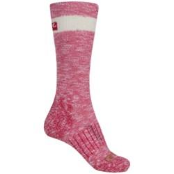 Carhartt Hiker Crew Socks - Merino Wool, Lightweight (For Women) in Pink