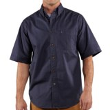 Carhartt Hines Solid Shirt - Cotton Twill, Short Sleeve (For Men)