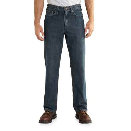 Carhartt Holter Jeans - Relaxed Fit, Factory Seconds (For Men) in Bed Rock - 2nds
