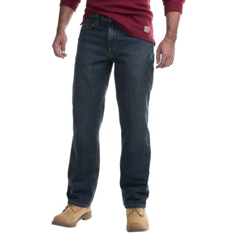 Carhartt Holter Relaxed Fit Denim Jeans - Factory Seconds (For Men) in Bed Rock