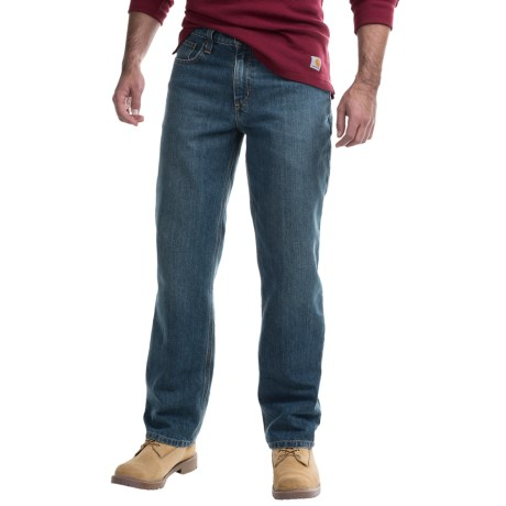 Carhartt Holter Relaxed Fit Denim Jeans - Factory Seconds (For Men) in Frontier