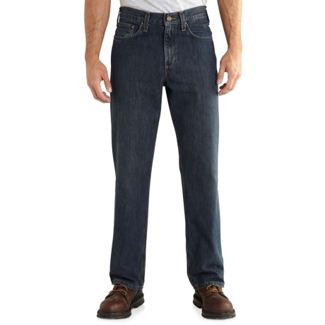 Carhartt Holter Relaxed Fit Jeans - Factory Seconds (For Men) in Bed Rock
