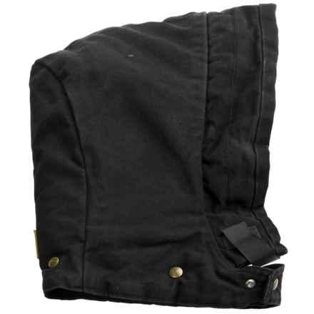 Carhartt Hood - Arctic Sandstone, Quilt Lined (For Men) in Black - 2nds