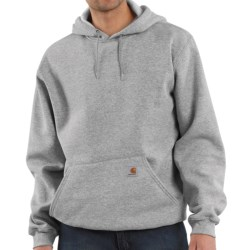 Carhartt Hooded Fleece Pullover Sweatshirt (For Men) in Heather Grey