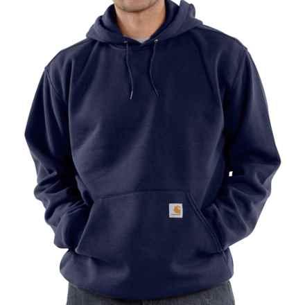 Carhartt Hooded Fleece Sweatshirt (For Tall Men) in Navy - 2nds