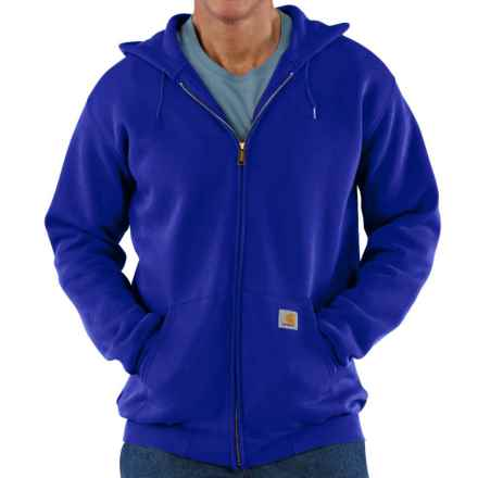 Carhartt Hoodie Jacket (For Big Men) in Cobalt Blue - 2nds