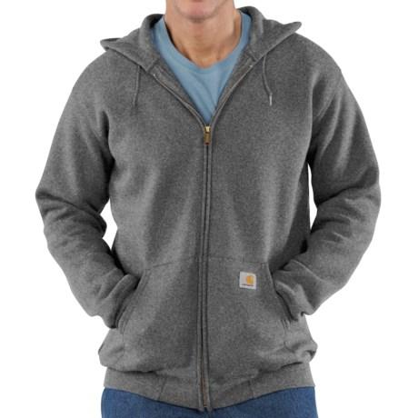 Carhartt Hoodie Jacket (For Men) in Charcoal Heather