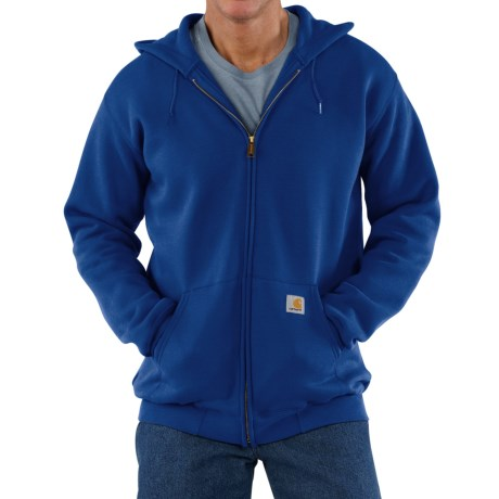 Carhartt Hoodie Jacket (For Men) in Cobalt Blue
