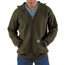 Carhartt Hoodie Jacket (For Men) in Olive - 2nds