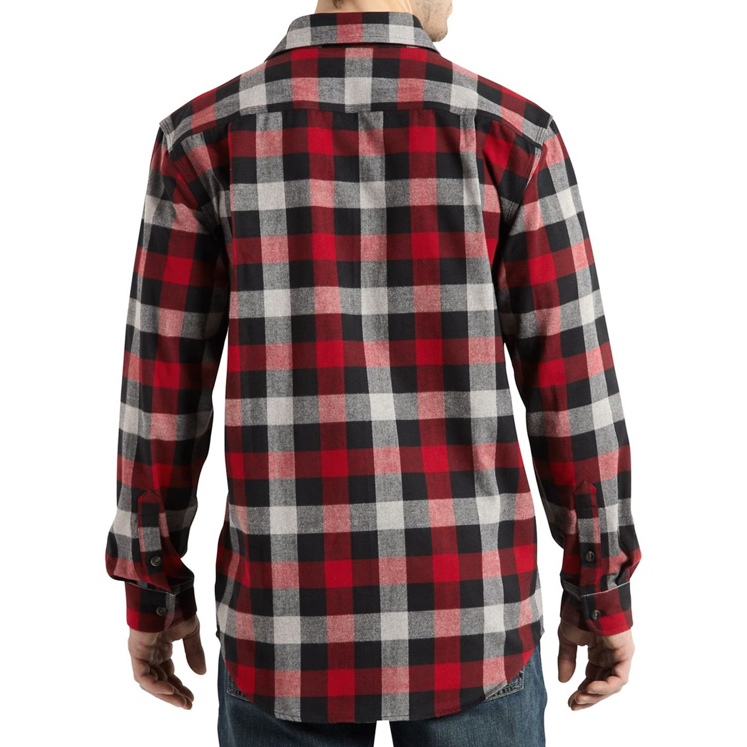 Carhartt Hubbard Flannel Shirt For Big And Tall Men 8873k