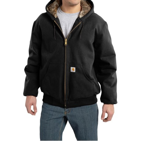 Carhartt Huntsman Active Jacket - Insulated and Flannel Lined (For Men) thumbnail