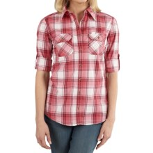 Carhartt Huron Shirt - Long Sleeve (For Women) in Cinnamon Red - 2nds