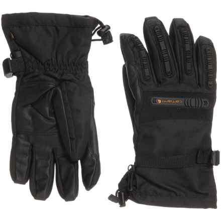 Carhartt Impact Gauntlet Gloves - Waterproof, Insulated (For Men and Women) in Black - Closeouts