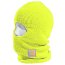 Carhartt Insulated Face Mask (For Men) in Bright Lime - 2nds