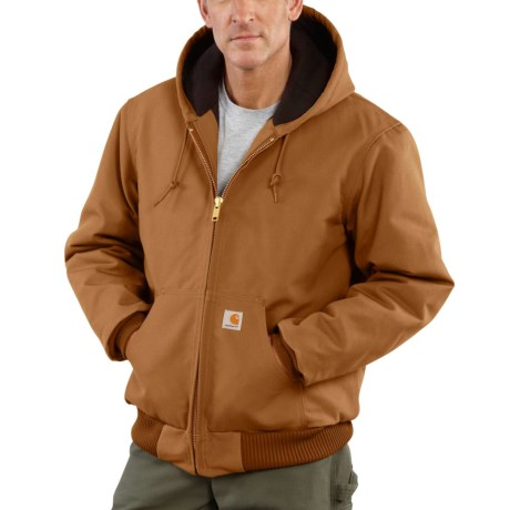 c699e2fe3 Carhartt J140 Active Duck Jacket - Flannel Lined, Factory Seconds (For Men)  in