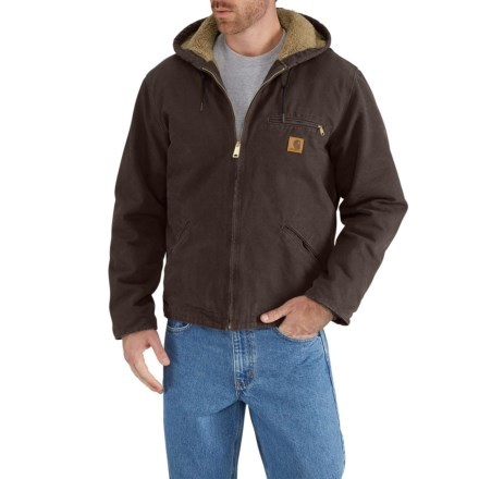 275d945f9 Clearance. Carhartt J141 Sierra Jacket - Sherpa-Lined, Factory Seconds (For  Big and Tall
