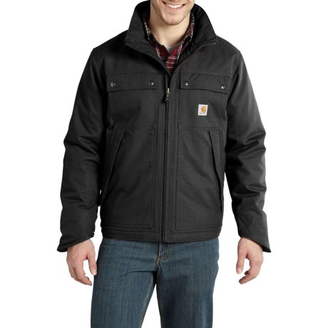 Carhartt Jefferson Quick Duck Traditional Jacket - Factory Seconds (For Big and Tall Men) thumbnail