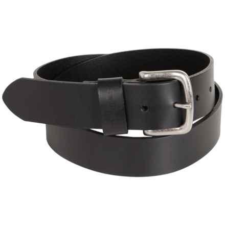 Carhartt Journeyman Belt (For Men) in Black W/ Nickle Buckle - 2nds