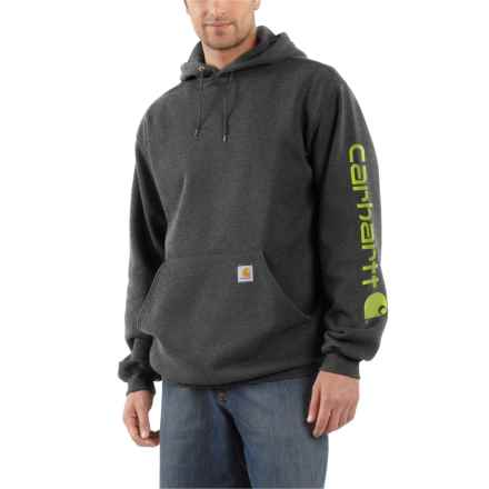 33af265a Carhartt K288 Midweight Logo Hoodie (For Men) in Carbon Heather - Closeouts