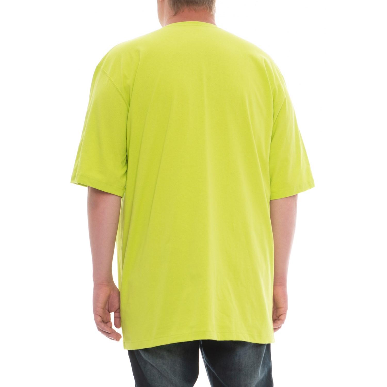 654b0ca890 Carhartt K87 Workwear Pocket T-Shirt - Short Sleeve, Factory Seconds (For  Big and Tall Men)