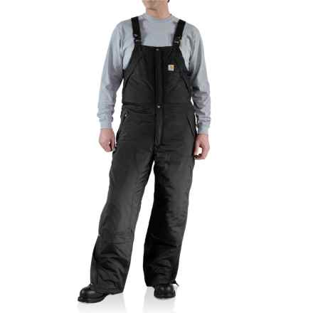 Carhartt Kalkaska Bib Overalls - Waterproof, Insulated (For Men) in Black - 2nds