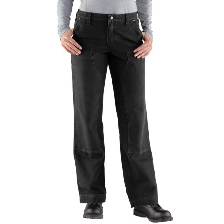 Carhartt Kane Double-Front Dungaree Jeans - Relaxed Fit, Factory Seconds (For Women) in Black